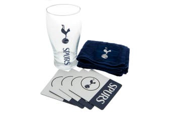 Tottenham Hotspur FC Official Mini Bar Set (Navy/White) (One Size)