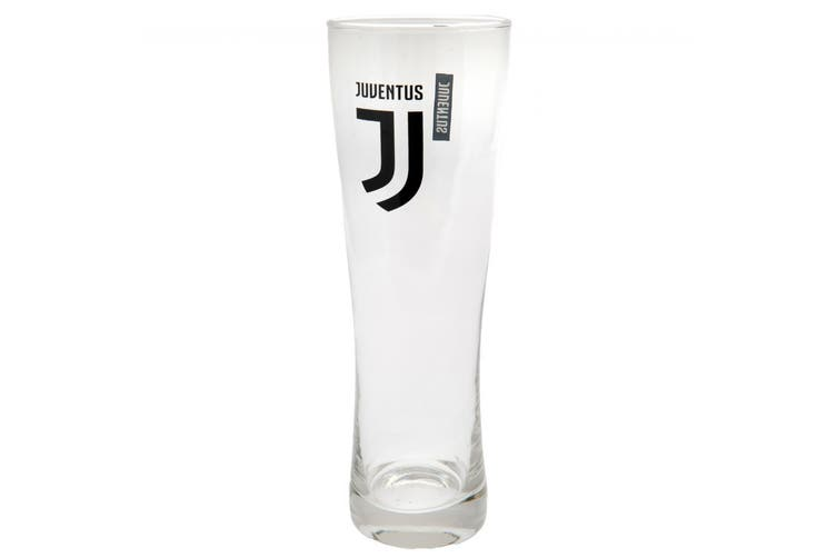 Juventus FC Official Tall Beer Glass (Black) (One Size)