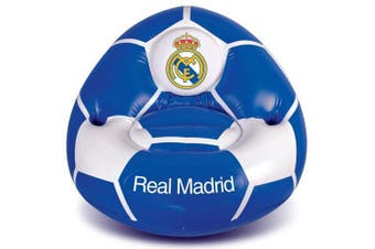 Real Madrid CF Inflatable Chair (Blue/White) (One Size)