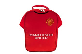 Manchester United FC Kit Lunch Bag (Red) (One Size)