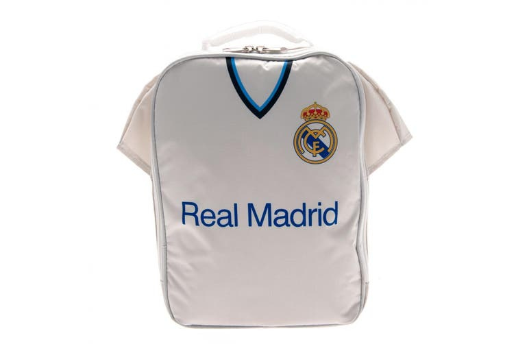 Real Madrid FC Kit Lunch Bag (White) (One Size)