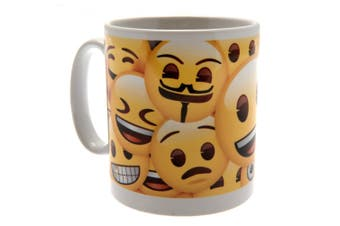 Emoji Official Icons Mug (Yellow/White) (One Size)