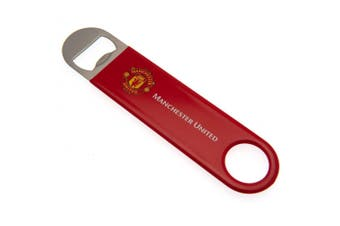 Manchester United FC Bar Blade Magnet (Red) (One Size)