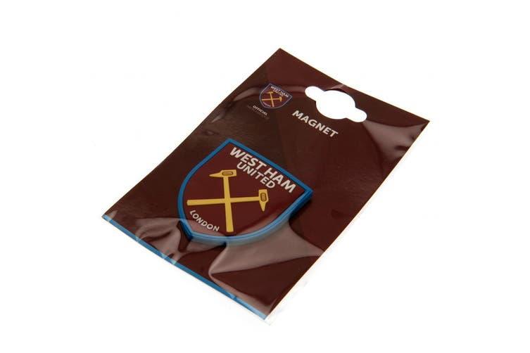 West Ham United FC 3D Fridge Magnet (Burgundy) (One Size)