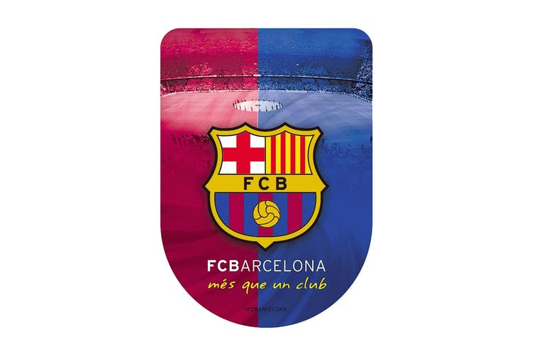 FC Barcelona 3D Sticker (Multicoloured) (One Size)