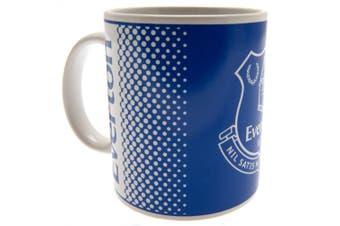 Everton FC Fade Mug (Blue) (One Size)