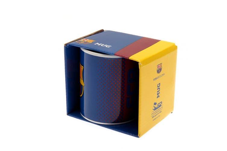 FC Barcelona Fade Mug (Blue) (One Size)