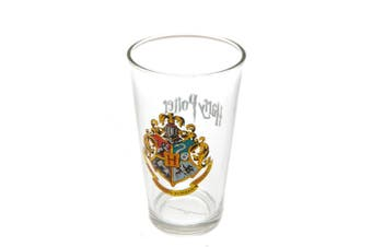Harry Potter Official Large Glass (Clear/Multicoloured) (One Size)
