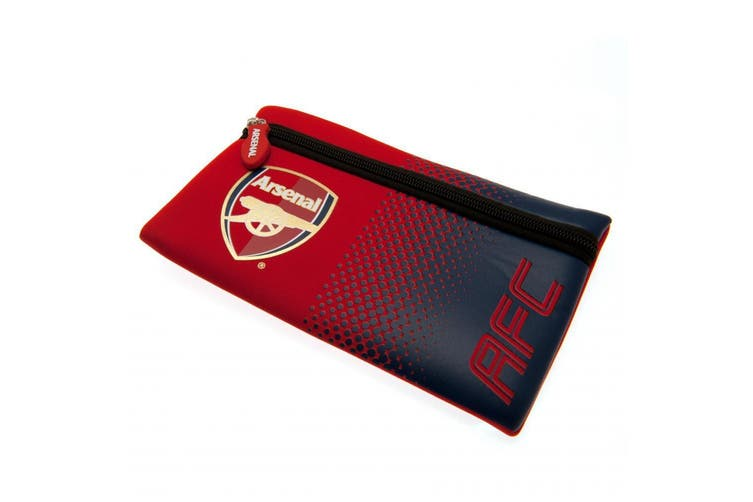 Arsenal FC Pencil Case (Red/Blue) (One Size)