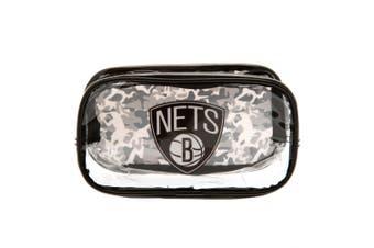 Brooklyn Nets Pencil Case (Black) (One Size)