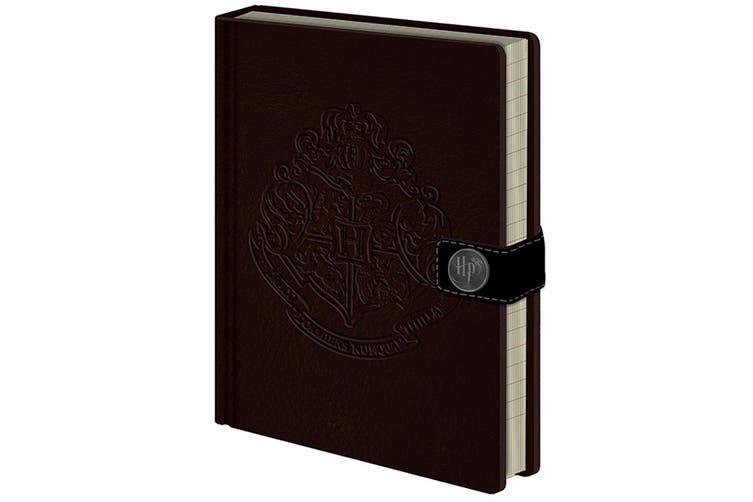 Harry Potter Hogwarts Premium Notebook (Brown) (A5)