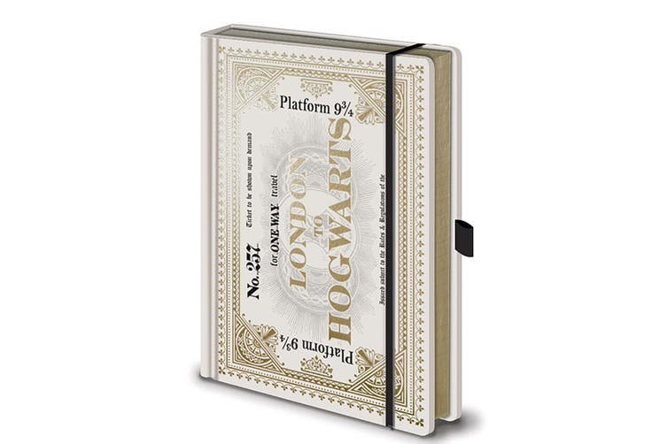 Harry Potter Ticket Premium Notebook (White) (A5)