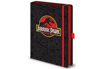 Jurassic Park Premium Notebook (Black) (One Size)