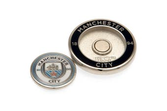 Manchester City FC Ball Marker Duo (White) (One Size)