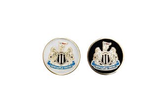 Newcastle United FC Ball Marker (Metallic) (One Size)