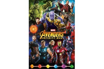 Avengers Infinity War Poster (Multi-colour) (One Size)