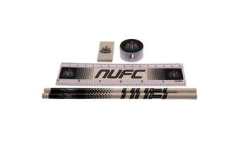 Newcastle United FC Core Fade Stationery Set (White/Black) (One Size)