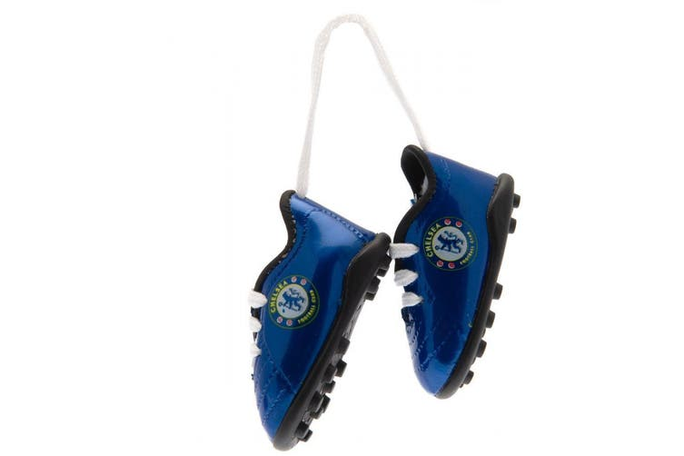 Chelsea FC Mini Football Boots (Blue/White) (One Size)