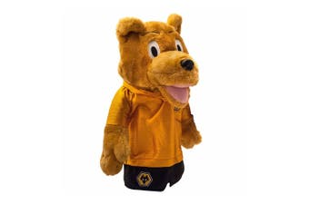 Wolverhampton Wanderers FC Mascot Headcover (Gold) (One Size)