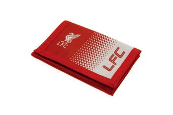 Liverpool FC Touch Fastening Fade Design Nylon Wallet (Red/White) (One Size)
