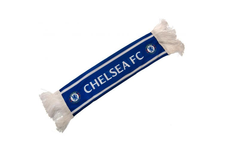 Chelsea FC Mini Car Scarf (Blue) (One Size)