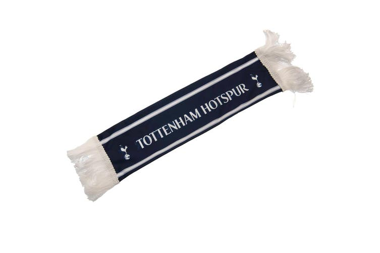 Tottenham Hotspur FC Mini Car Scarf (Blue) (One Size)