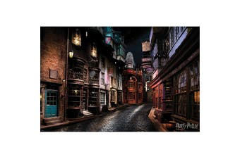 Harry Potter Diagon Alley Poster (Multi-color) (One Size)