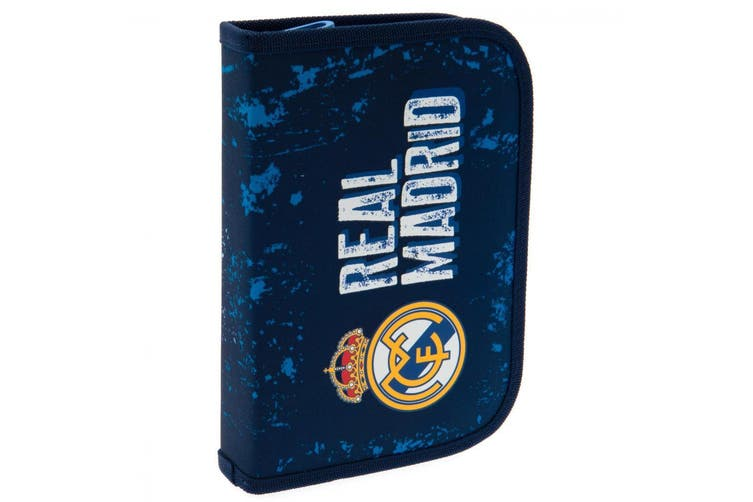 Real Madrid CF Filled Pencil Case (Blue) (One Size)