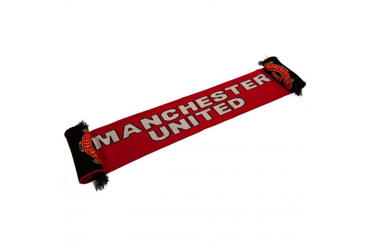 Manchester United FC Scarf (Red) (One Size)