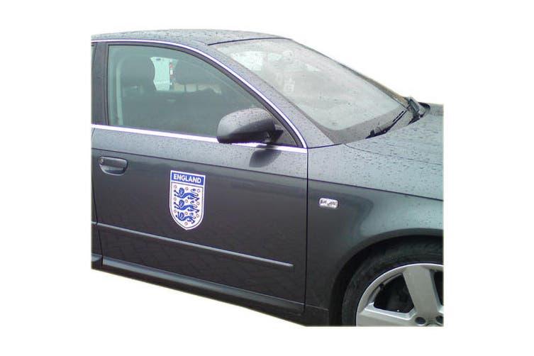 England FA Car Magnet (White/Blue) (One Size)