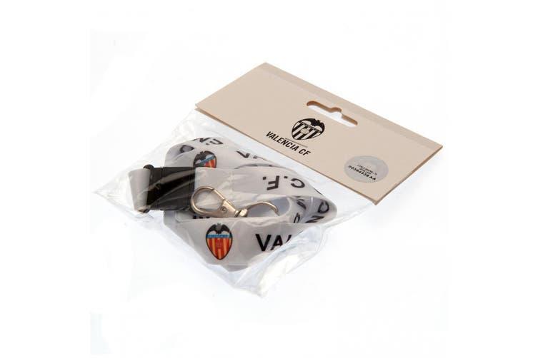Valencia CF Lanyard (White) (One Size)