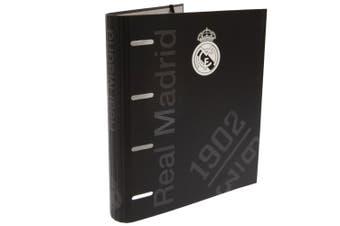 Real Madrid CF Ring Binder (Black) (One Size)