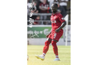 Liverpool FC Keita Poster (Red) (One Size)