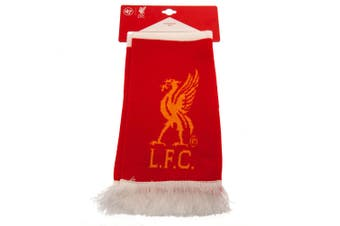 Liverpool FC Bar Scarf (Red/White) (One Size)
