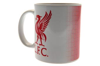 Liverpool FC Mug (White/Red) (One Size)