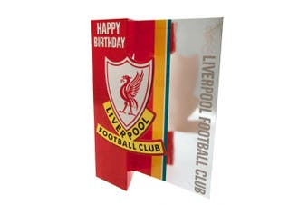 Liverpool F.C. Pop Out Birthday Card (Various) (One Size)