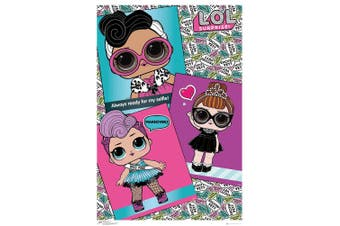 L.O.L. Surprise Photo Poster (Multicolour) (One Size)