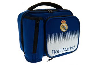 Real Madrid FC Fade Pattern Lunch Bag (Blue/White) (One Size)