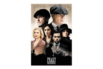 Peaky Blinders Group Poster (Multicolour) (One Size)