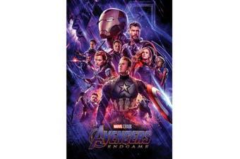 Avengers Endgame Journeys End Poster (Multicoloured) (61cm x 91.5cm)