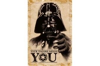 Star Wars Empire Needs You Poster (Multi-colour) (One Size)