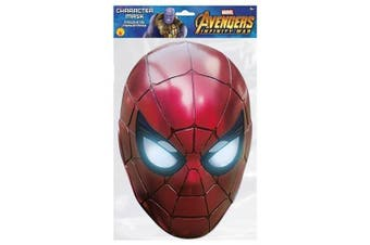 Avengers Spider-Man Mask (Red) (One Size)