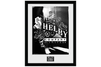 Peaky Blinders Shelby Company Framed Poster (Black/White) (One Size)