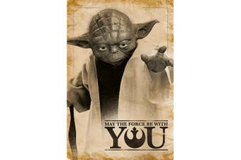Star Wars Yoda Poster (Multi-colour) (One Size)