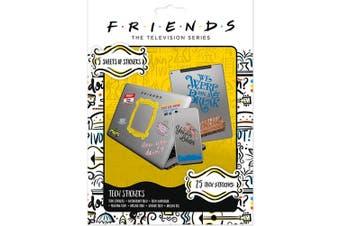Friends Tech Stickers (Multicoloured) (One Size)