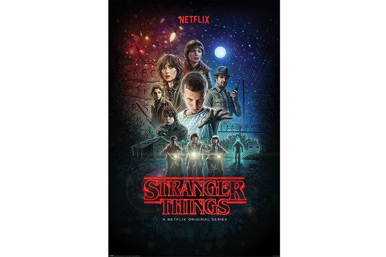 Stranger Things Poster (Multi-colour) (One Size)