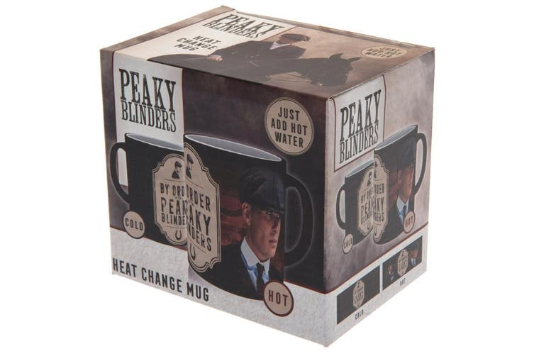 Peaky Blinders Heat Changing Mug (Multicoloured) (One Size)
