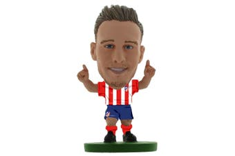 Atletico Madrid FC SoccerStarz Saul Niguez (Red/White/Blue) (One Size)