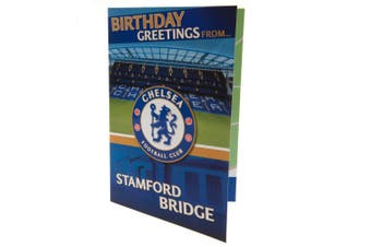Chelsea FC Pop-Up Birthday Card (Blue) (One Size)