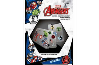 Marvel Avengers Tech Stickers (Multicoloured) (One Size)